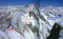 Smeri v Gashebrumu