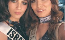 Miss Izraela in miss Iraka