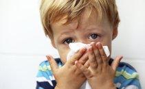 Prehlajen otrok