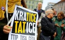 Protest proti TTIP v Ljubljani - 5