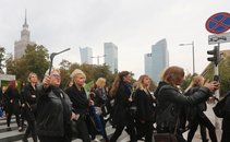 Protest Poljakinj proti prepovedi splava - 6
