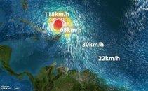 Animacija orkana Maria