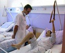 Bolnik v bolnišnici
