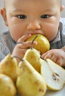 Dojenček s hruško