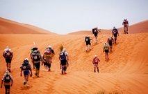 Slovenec na maratonu po puščavi - 6