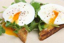 Toast z jajci