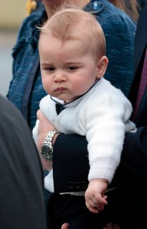 Princ William, Catherine in princ George - 1