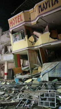 potres v Ekvadorju - 2