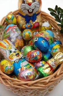 čokoladna velikonočna jajca