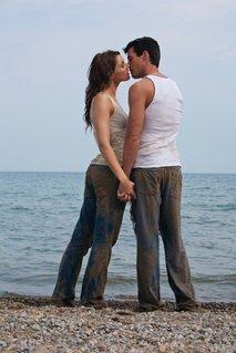 Poljub na plaži