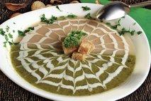 Dvobarvna kremna juha
