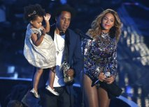 Beyonce, Jay-Z in Blue Ivy