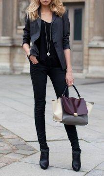 Modni stil - črna