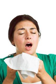 Prehlajena nosečnica