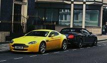 Aston Martin Yellow