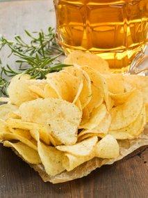 Krompirjev čips z rožmarinom