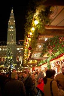Božični sejem na Dunaju