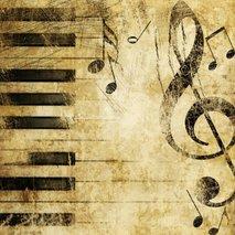 glasba, tipke in note