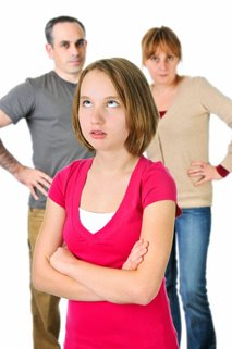 Družina z najstnikom