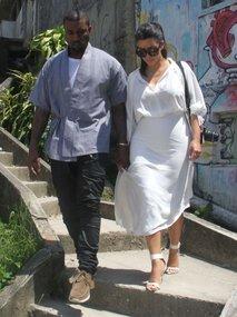 Kim Kardashian in Kanye West - 2