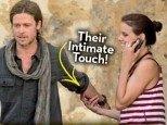 Brad Pitt in neznana ženska na Malti