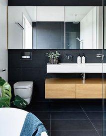 Črna kopalnica