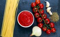 sestavine za testenine z omako