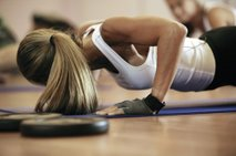 trening v fitnesu