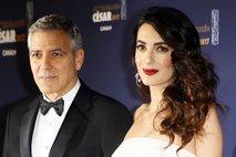 George in Amal Clooney na podelitvi cezarjev - 3