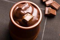 Domač čokoladni puding