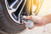 Preverjanje tlaka v pnevmatiki