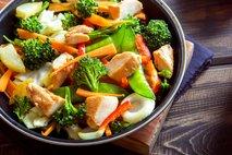 Zelenjava in meso