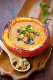 Bučna juha s semeni