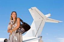 pes potuje z letalom