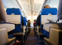 menjava sedežna na letalu