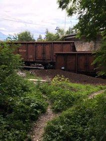 Iztirjenje vlaka v Kranju - 4