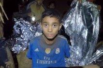 Tajski deček ujet v jami