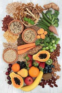 Z vlakninami bogata živila
