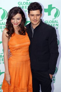 Seksi Miranda Kerr in Orlando Bloom - 5