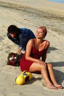 tat na plaži