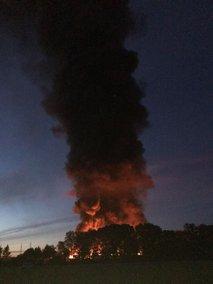 požar v Ljutomeru