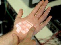 'Skinput' pretvori telo v zaslon na dotik