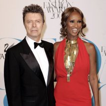 David Bowie in Iman