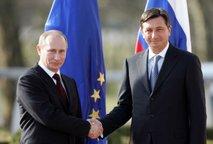 Rokovanje Putina in Pahorja