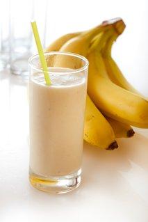 Bananin mlečni napitek