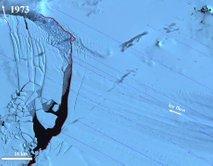 Satelitski posnetki ledu na Antarktiki