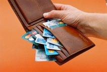 kreditne kartice v denarnici