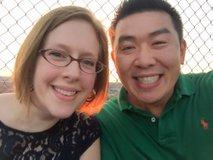 Jim Wang z ženo