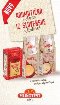 Aromatična polenta iz slovenske poltrdinke
