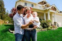 družina in hiša